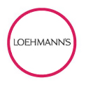 Loehmann's logo in red circle